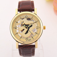 Han Edition Original Watches Female The Dial Leather Strap Students Fashion Trend Contracted Neutral City Quartz