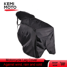 Buy Universal Leg Cover For Scooters Motocycle Rain Wind Cold Moisture Weather knee Protector Windproof Winter Quilt For TMAX 530 directly from merchant!