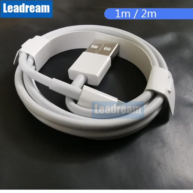 Wholesale 100Pcs USB Cable Fast Charging USB Charging Data Sync Cable For iPhone X 8 7