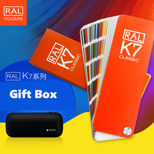 Image 4 - Free Shipping Germany RAL K7 International Standard Color Card Raul   Paint Coatings with Gift One Box