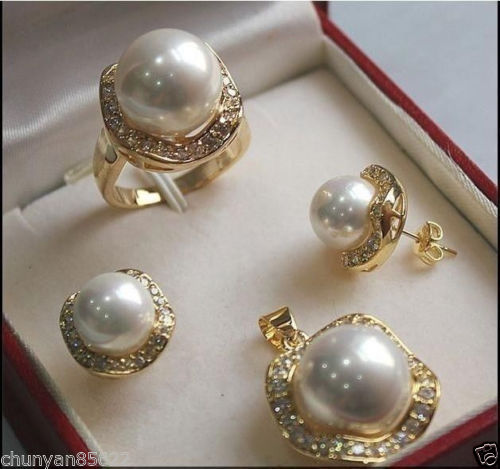 Hot sale new Style >>>>>1Set AAA 10mm &14mm White South ...