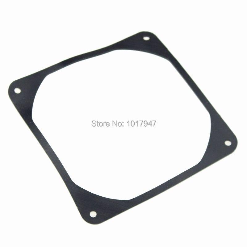 Купить с кэшбэком 10PCS lot 120MM X 120MM 12cm Computer Fan Silencer for noise reduction Anti Vibration Gasket