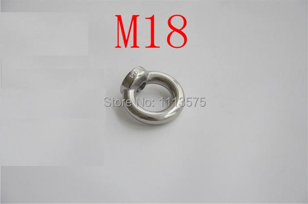M18,304 321 316 stainless steel lifting eye ring nut bolts and nuts fasterner hardware lifting equipment accessory 5pcs 304 stainless steel capillary tube 3mm od 2mm id 250mm length silver for hardware accessories