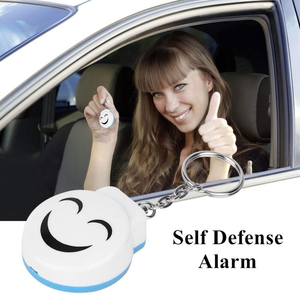 Self-defense Alarm Keychain 120dB Security Siren Personal Alarm Protection Individual Protection Means Self Defence self defense personal protection tool tan