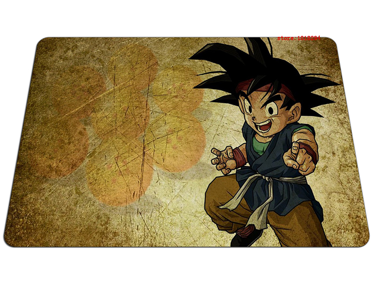 Dragon Ball mouse pad young Goku pad mouse laptop Dragon Ball Z mouse pad gear notbook computer anime gaming mouse pad gamer