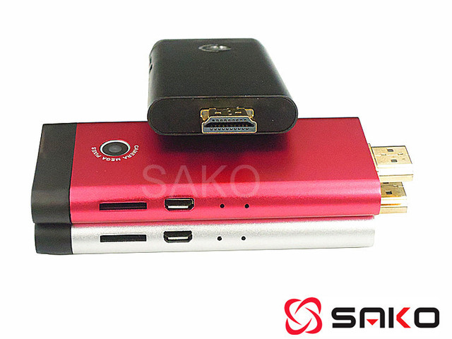 Free Shipping - Quad Core RockChip 3188 ARM Cortex-A9 1.8GHz Skype Airplay Dongle Mini PC 2GB/8GB WiFi Bluetooth Youtobe