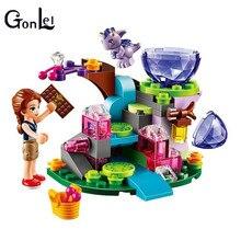 (GonLeI) 10499 10535 pcs 83 Amigos Emily Jones & o Bebê Dragão Vento Modelo Compatível Com Tijolos de Blocos de Construção de Brinquedo conjunto elfos