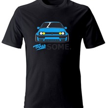 Лидер продаж; Новинка Мужская футболка мужская три какой-нибудь Забавный Футболка Германии классических автомобилей Гольфы MK3 GT GTI VR6 1,9 TDI футболка