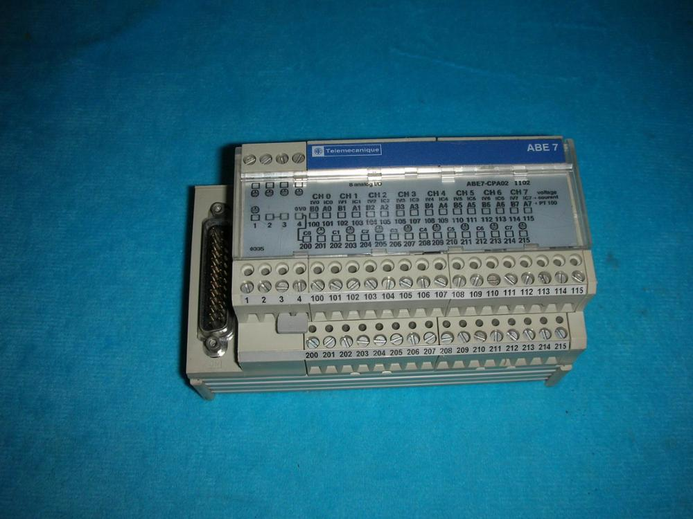 1PC USED Schneider Telemecanique ABE7-CPA02 disassemble l32n9 msdv2601 zc01 01 e 303c260107c lta320ab01 used disassemble