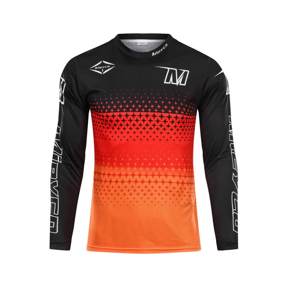 Mieyco サイクリングジャージ男マウンテンダウンヒルバイク DH RBX 自転車レース服オフロードモトクロスマイヨ MTB バイクサイクリングシャツ