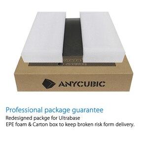 Image 5 - Anycubic Ultrabase 3D yazıcı platformu isıtmalı yatak inşa yüzey cam plaka 240x220x6mm ile uyumlu MK2 MK3 sıcak yatak