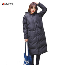 Winter Jacket Women 2016 Long Cotton Down Parkas Manteau Femme Parkas for Women Winter Jacket Coat Plus Size Womens Down Jackets
