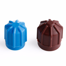 2pcs Car AC A/C Valve Cap Refrigerant Hi/Lo Voltage R134a Dust Cover