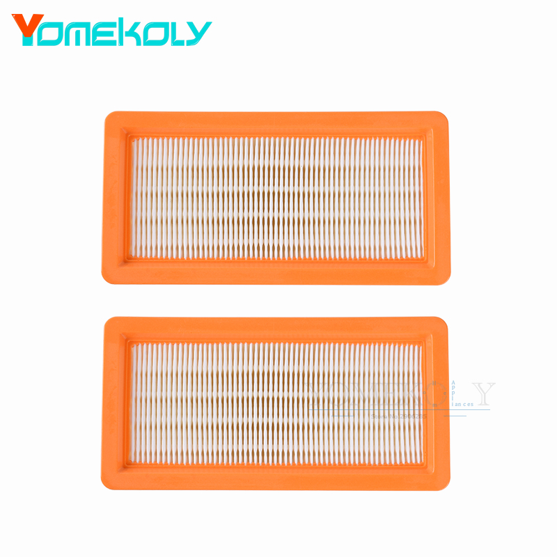 2pcs Washable Filter for Karcher DS5500 DS6000 DS5600 DS5800 Robot Vacuum Cleaner Parts for Karcher 6.414-631.0 Hepa Filters цена