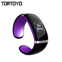Intelligente Wristband L12S OLED Braccialetto Bluetooth Orologio Da Polso Design per iPhone IOS per Samsung e Telefoni Android Wearable Electronic