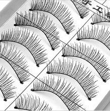 50 Pairs makeup fake eyelashes natural false eyelashes mink eye lashes cilios faux cils false lashes maquiagem pestanas postizas недорого