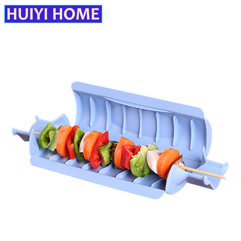 HUIYI HOME BBQ Meat Skewer Kebab Beef Meat Maker Grill Barbecue Kitchen Accessories EKC013