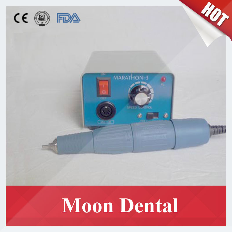 купить South Korea Saeyang Marathon3 Micromotor Polisher with 35000RPM Handpiece H37L1 for Polishing Dentures/Jade/Glass/Wood онлайн