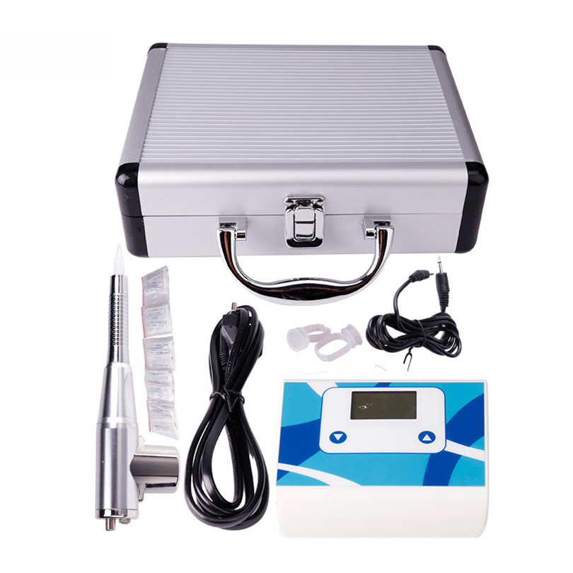 Permanent Makeup Machine Kit Numerical Control Tattoo Pen Rotary Tattoo Machine Eyebrow Pen Lips Eyeliner Power Supply Needles professional permanent makeup tattoo eyebrow pen machine 50 needles tips power supply set us plug drop shipping wholesale