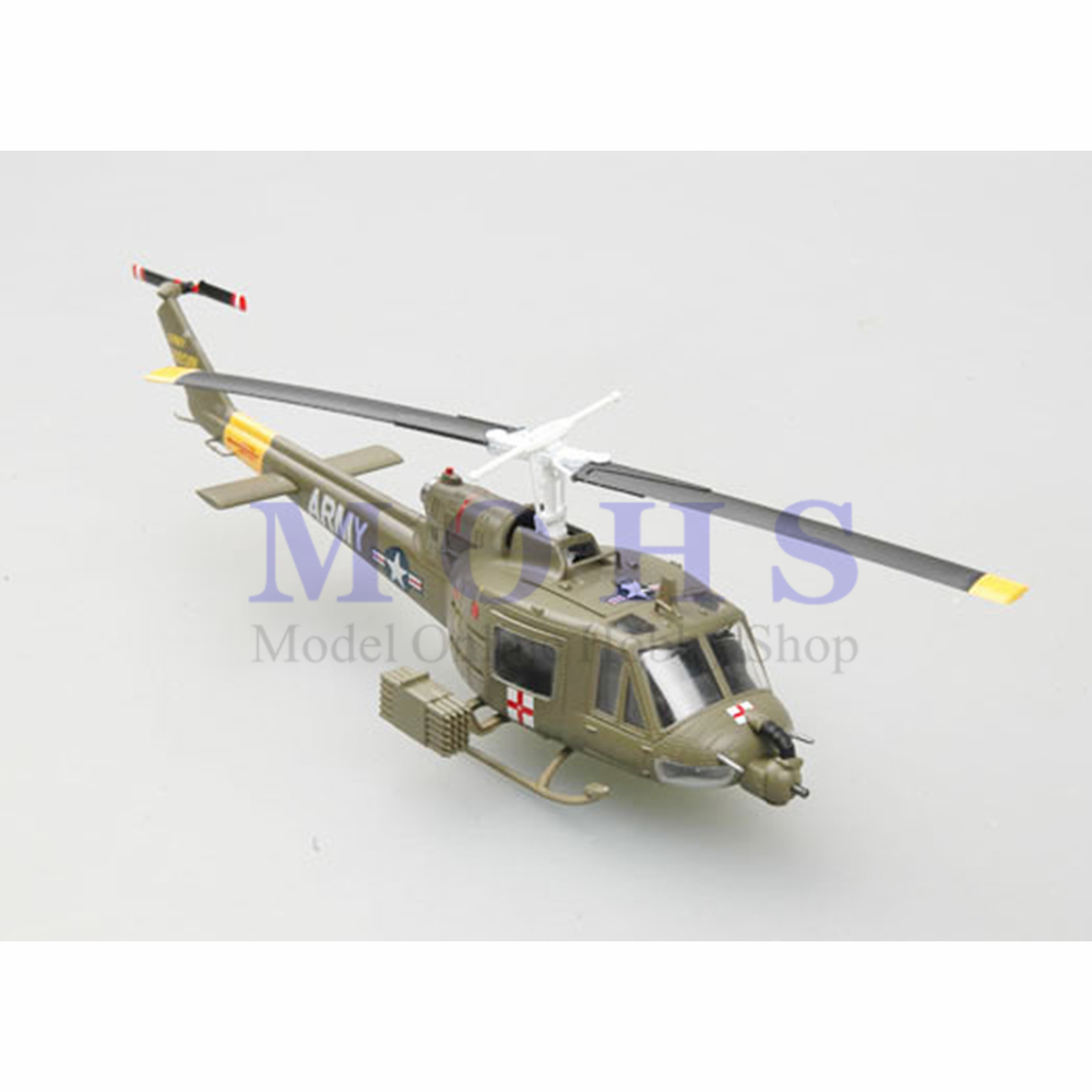 Toys & Hobbies Careful Easy Model 1/72 36908 Assembled Model Huey Finished Scale Model Scale Helicopter U.s.army Uh-1b Huey Mild And Mellow