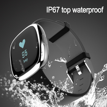Smart Watch Heart Rate Monitor Android IP67 Waterproof Blood Pressure Tracker Wearable Devices Calories Fitness Tracker Watch