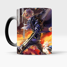 One Piece mugs luffy sabo ace mug hot cold Heat reveal travel color changing mugs