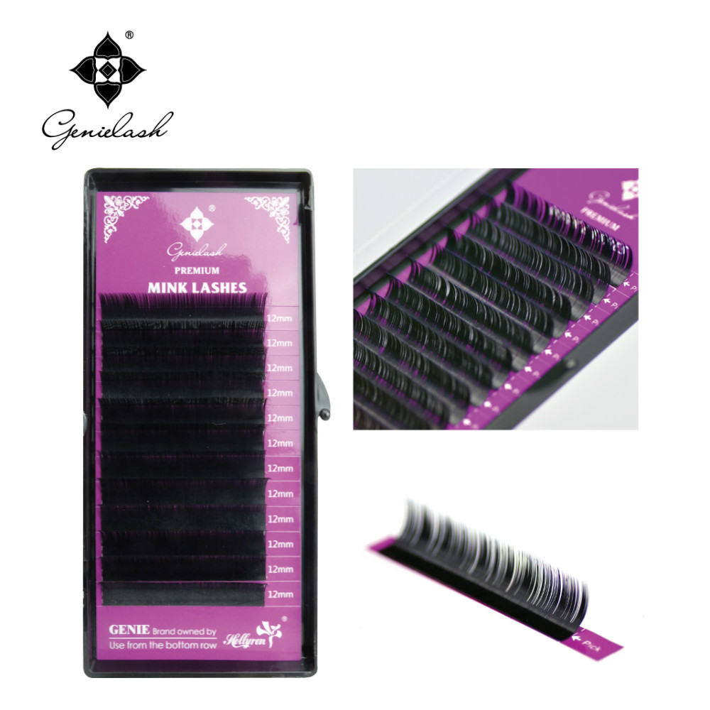 10 pcs L curl 0.07-0.20 Thickness 100% handmade faux mink eyelash extension mink keer 2 l