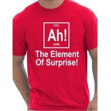 "Superb ""Ah! | The Element Of Surprise!"" t-shirt"