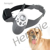 Heropie 1000 M Remote Control Dog Trainer Waterproof and Rechargeable LCD Pet Dog Training Collar Electric Shock Dog Control