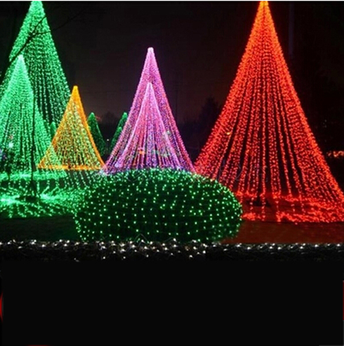 String Lights In Trees: LED Lights Flashing String Lights Christmas Tree Lights