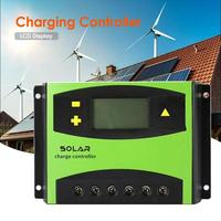 60A LCD Solar Controller 12V24V Battery Solar Charging Controller Regulator