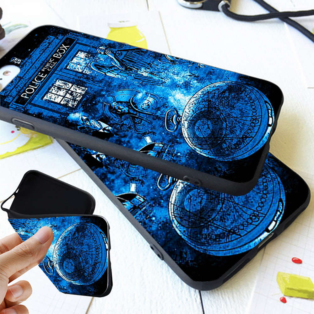 fac4c6860 Doctor Who Collage Trending Coque Soft TPU Silicone Phone Case Cover ...