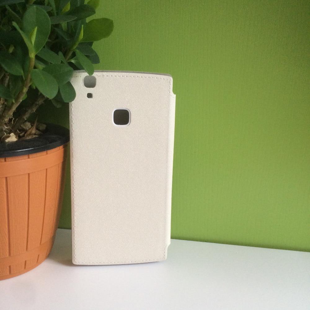 DOOGEE X5 MAX härdat glas + Protector Läderfodral Flip Case - Reservdelar och tillbehör för mobiltelefoner - Foto 5