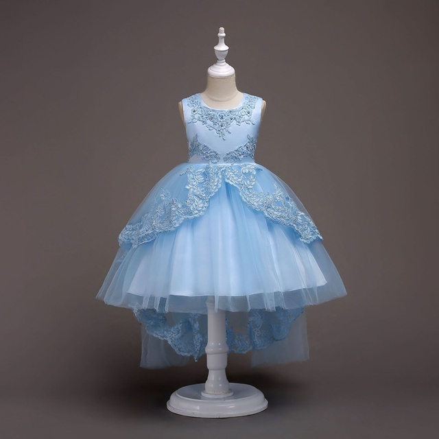 Baby Girls Lace Dress Kids Evening Dress Children Princess Deading ...