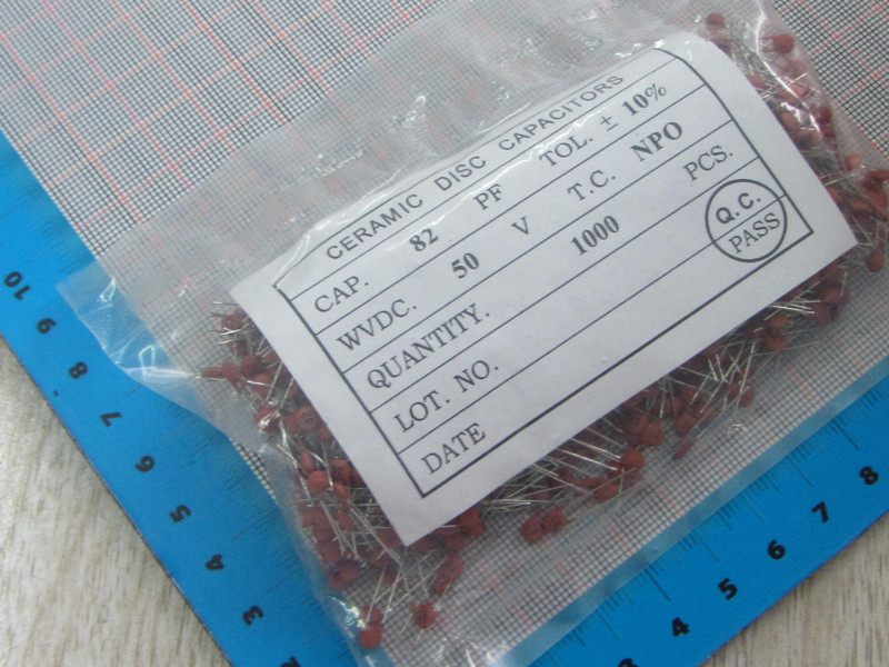1000pcs/lot High Quality 82PF 82p 50V Ceramic dielectric Capacitor 82PF 82p 50V dip ceramic capacitors 82pf