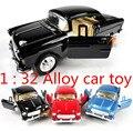 ¡ Venta caliente! 1: 32 tire hacia atrás juguete coches modelo de Aleación de coches Clásicos, 2 puerta abierta, juguetes educativos del bebé, envío libre