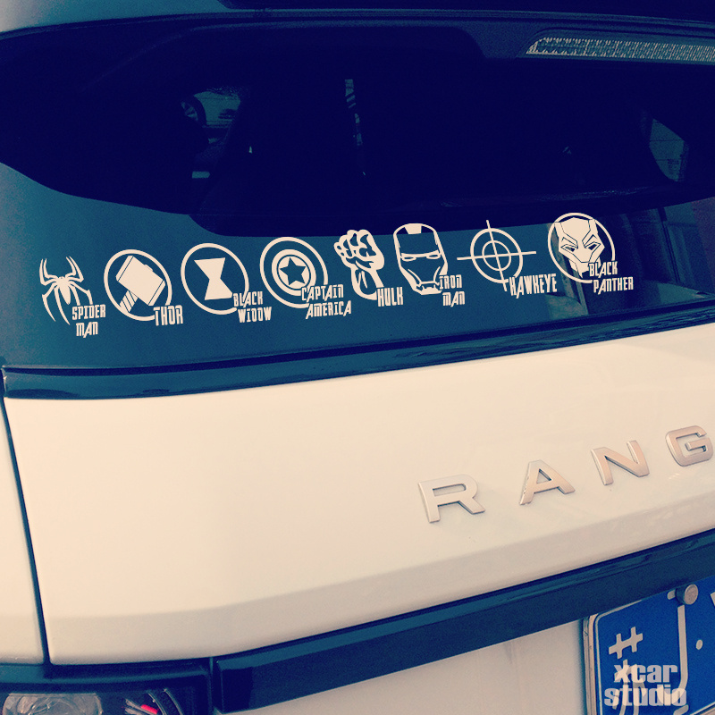 Marvel Black Panther Pegatina//Coche Decal
