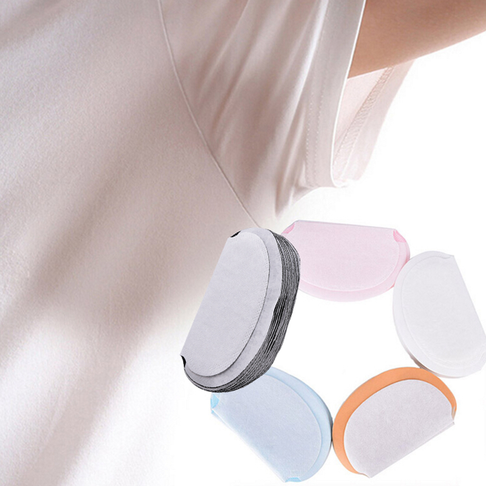 10Pc 5color New Summer Deodorant Underarm Sweat Pads Dress Clothing Perspiration Pads For Women Absorbing Pad For Armpit