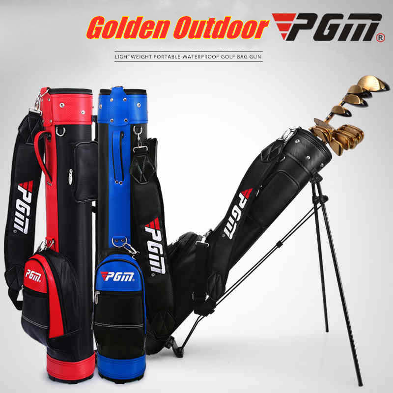 Sac de Golf Standard de marque PGM avec roues de voyage support trépied sac de golf sac de chariot Caddy ensemble de Golf sac de Rack Standard