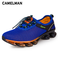 Male New Fashion Sports Shoes Men Outdoor Cushioning Sneakers Couple Lovers Breathable Running Walking Shoe Size 35 48