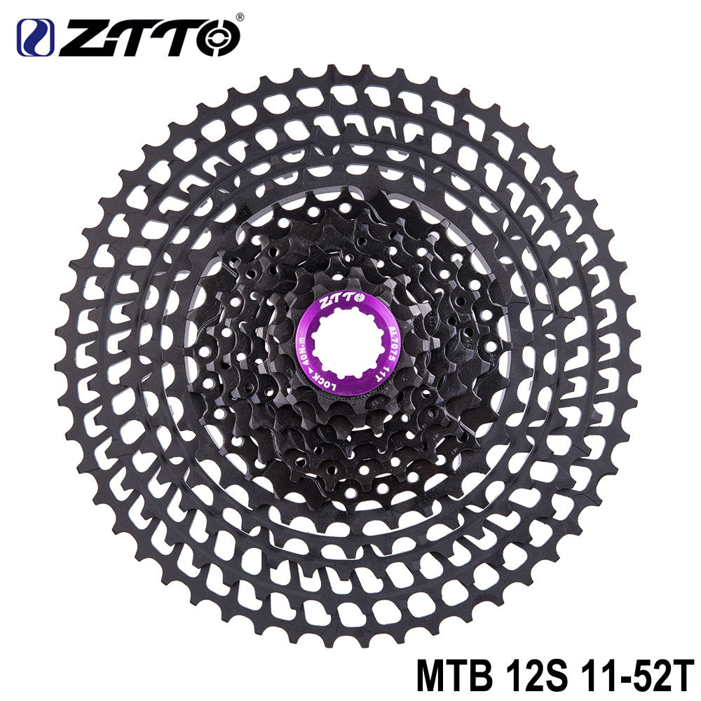 ZTTO 12 Speed Rainbow Cassette 11-52T SLR2 MTB 12Speed UltraLight Freewheel