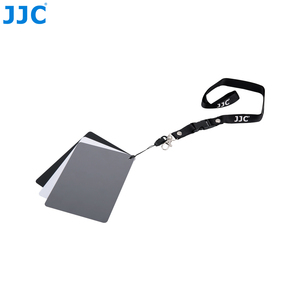 Image 2 - JJC Camera White Balance Accurate 3 in 1Color Balancing Tool With Neck Strap 130x100x24mm Digital Grey Card for Canon/Nikon/Sony