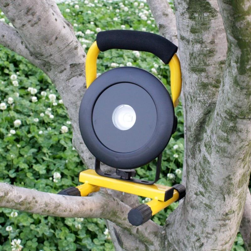 Φως πλημμυρών YUPARD Φωτιστικό προβολής Spotlight Φωτιστικό XM-L2 LED T6 επαναφορτιζόμενο + Φορτιστής 3 * 2200mAh 18650 + φορτιστής