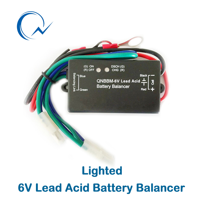 Inventive Qnbbm 6v Lead Acid Battery Balancer Equalizer With Led Bms Flooded Agm Gell Battery Anti-vulcanization,anti-corossion Ample Supply And Prompt Delivery Atv,rv,boat & Other Vehicle Automobiles & Motorcycles