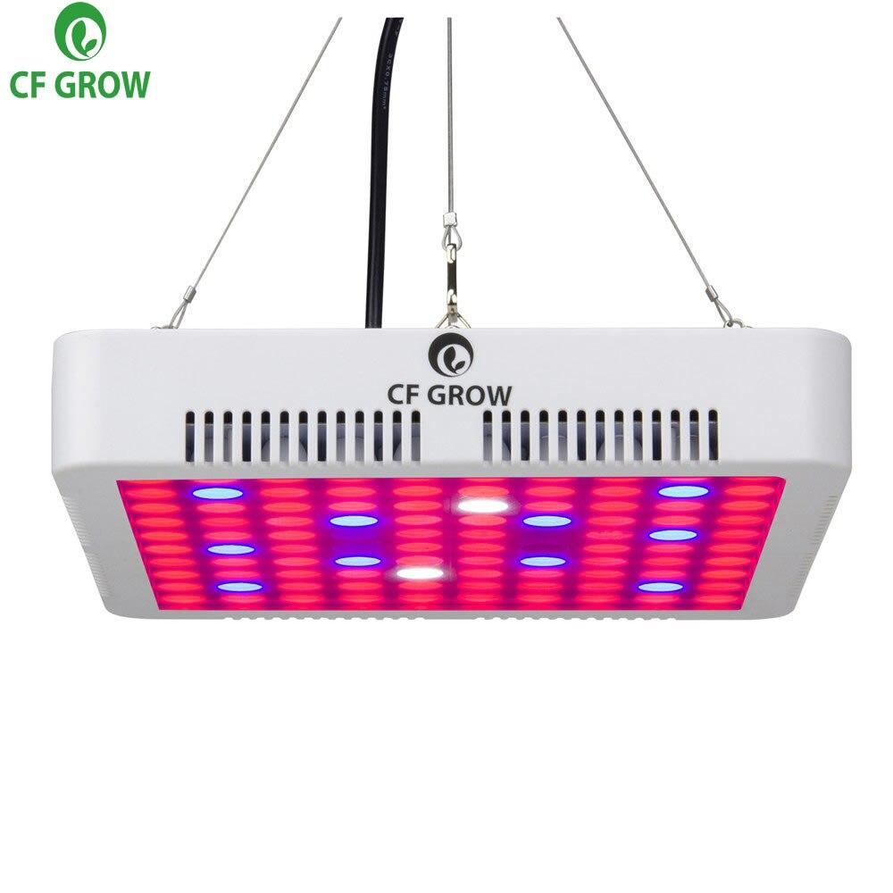2018 New 300W Led Grow Light Panel 100 3W SMD3030 LED 7 Band Plant Grow Lamp