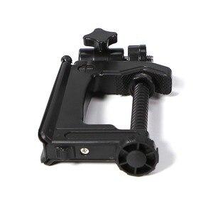 Image 4 - Mini Portable Camera Stand Camera Clamp Tripod 1/4   20 Screw Photography Table Tripod Clamp Camera Stand for DV SLR VCR Camera