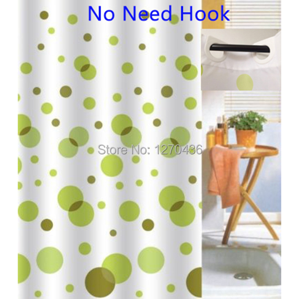 Fashions EZ On No Hooks Facebook Shower Curtain 72 By72 Inch Hookless Fabric