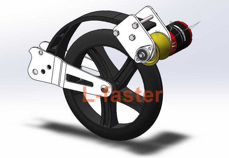 Lichte Elektrische Fiets : Elektrische scooter diy motor kit elektrische fiets borstelloze