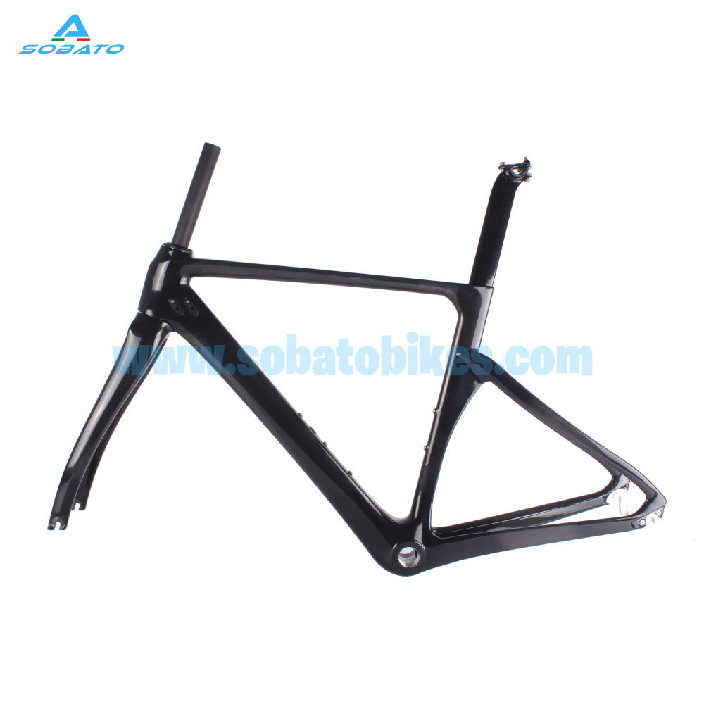 Hot selling EN carbon bikes Road disc brake RAA carbon road frame,Bottom bracket BSA and PF30,flat mount disc brake 2017 flat mount disc carbon road frames carbon frameset bb86 bsa frame thru axle front and rear dual purpose carbon frame