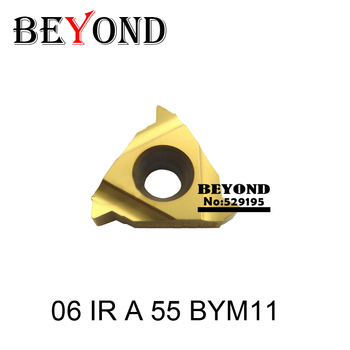 06 IR A 55 BYM11 06IR A55 indexable Tungsten Carbide Threading Lathe Inserts For Threaded Holder thread Turning Tool Holders